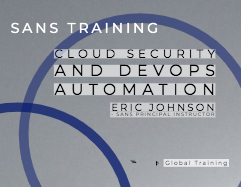 Secure DevOps and Cloud Security